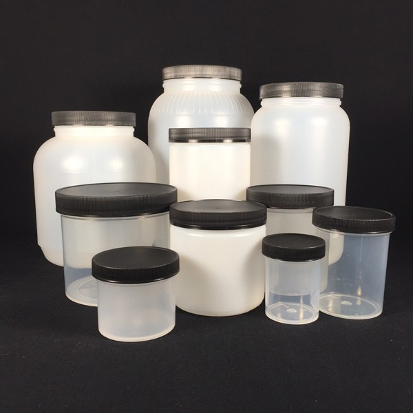 Plastic Storage Jars With Covers