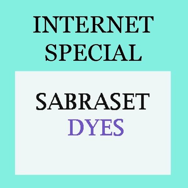 INTERNET SPECIAL | PRO Sabraset Dye