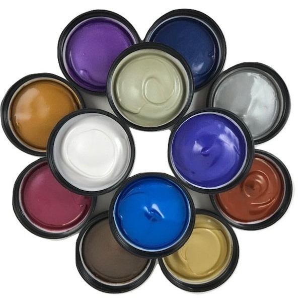 12 Pack Painters Palette - PROfab Pearlescent Paints