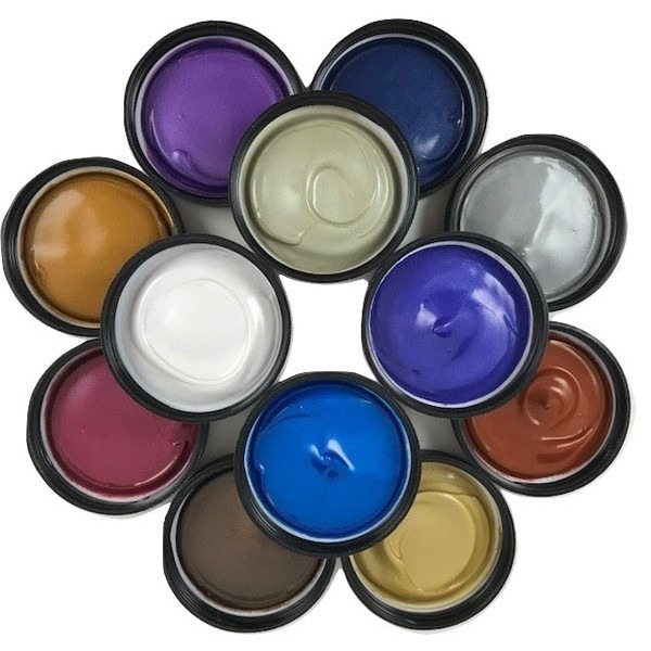 12 Pack Painters Palette - PROfab Pearlescent Paints