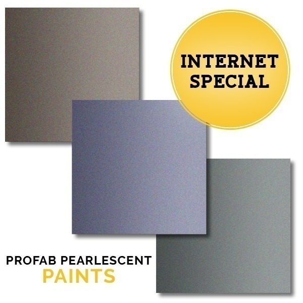 INTERNET SPECIAL | PROfab Pearlescent Paint