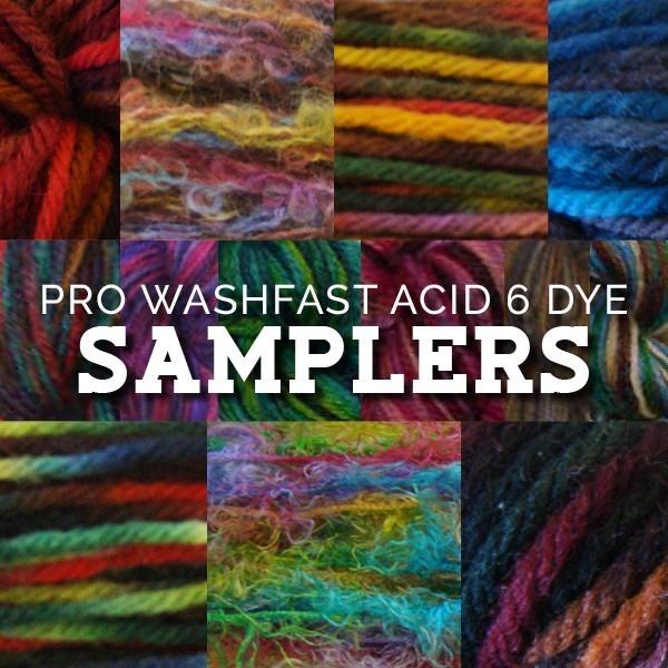 PRO WashFast Acid 6 Dye Samplers