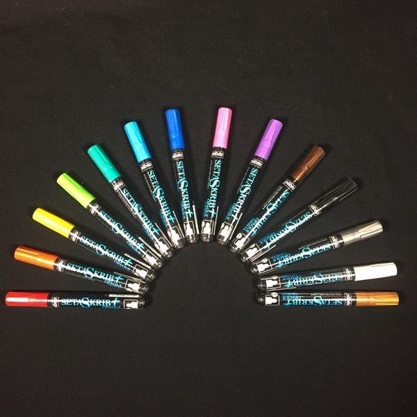 Pebeo Setaskrib+ Opaque Fabric Markers