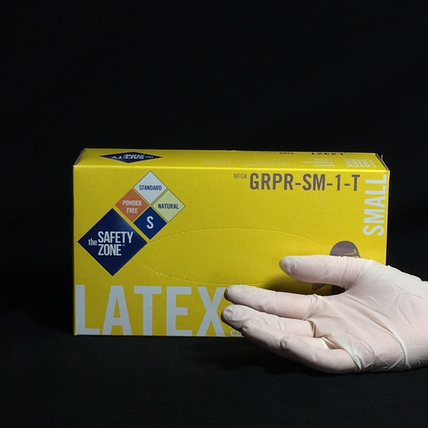 Disposable Latex Gloves | Box of 50 pair