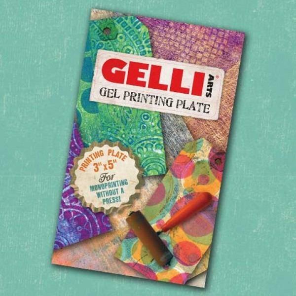 "Gel Printing Plates - 3"" x 5"""