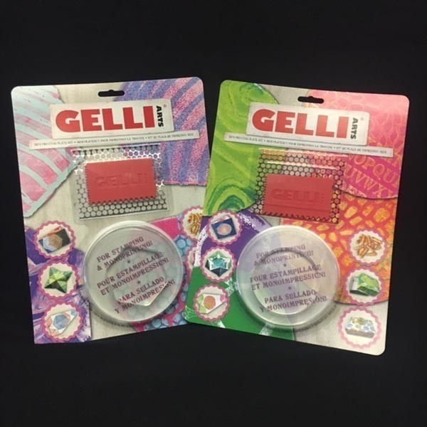 Mini Gel Printing Plate Kits by GELLI®