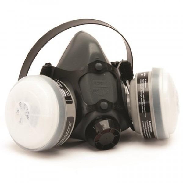 NORTH 5500 Respirator | With Multi-Contaminant Cartridges