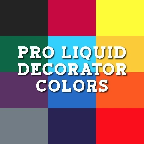 PRO Liquid Decorator Colors