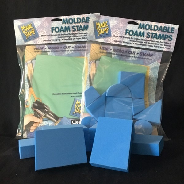 Moldable Foam Magic Stamp®