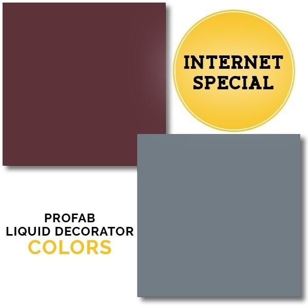 INTERNET SPECIAL | PRO Liquid Decorator Colors