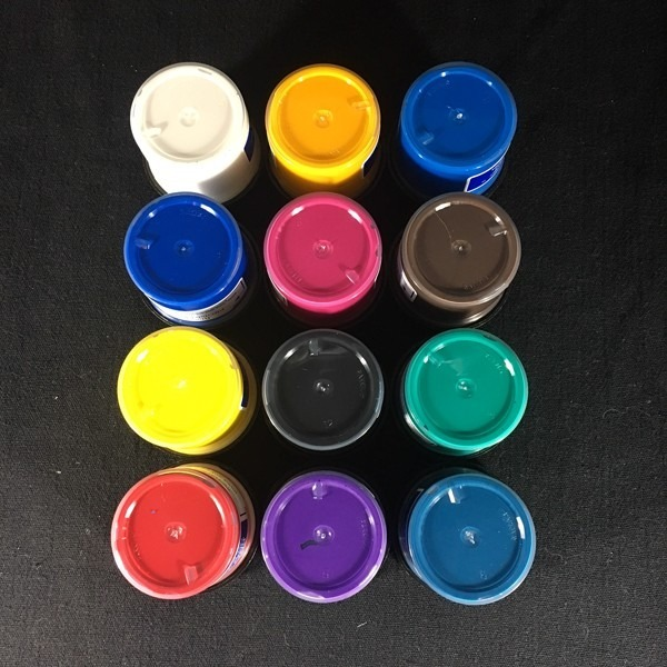 12 Pack Painters Palette - PROfab Opaque Paints