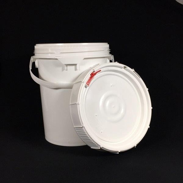 Plastic Storage Pail | Screw-Top Pail With Lid - 5 gal.