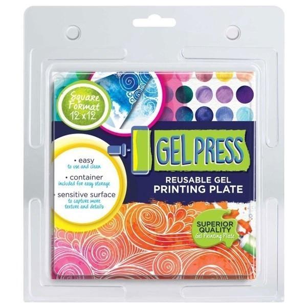 "Gel Printing Plates - 12"" x 12"""