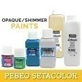 PEBEO Setacolor Opaque / Shimmer Paints