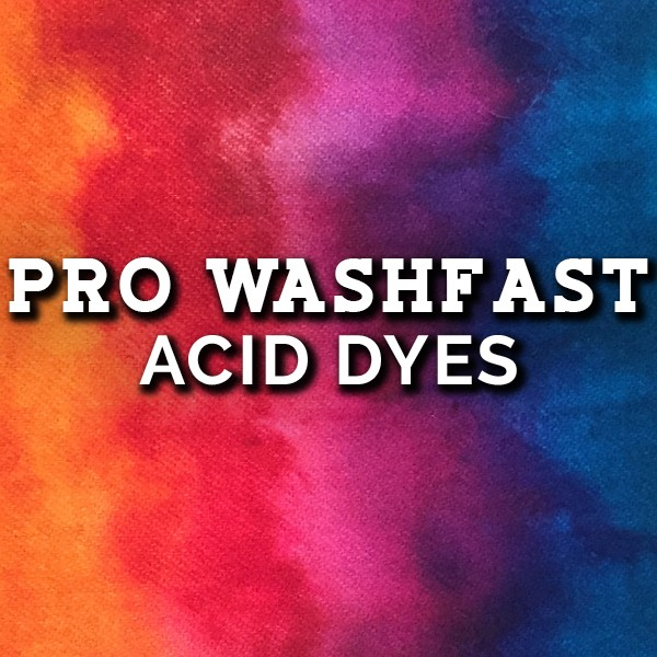 PRO WashFast Acid Dyes