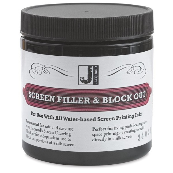 Jacquard Screen Filler & Block Out - 8 oz.